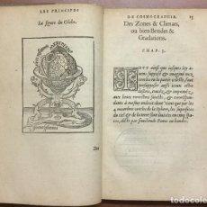 Libros antiguos: LES PRINCIPES D'ASTRONOMIE & COSMOGRAPHIE AVEC L'USAGE DU GLOBE. - GEMMA FRISIUS, RAINER.. Lote 109022603