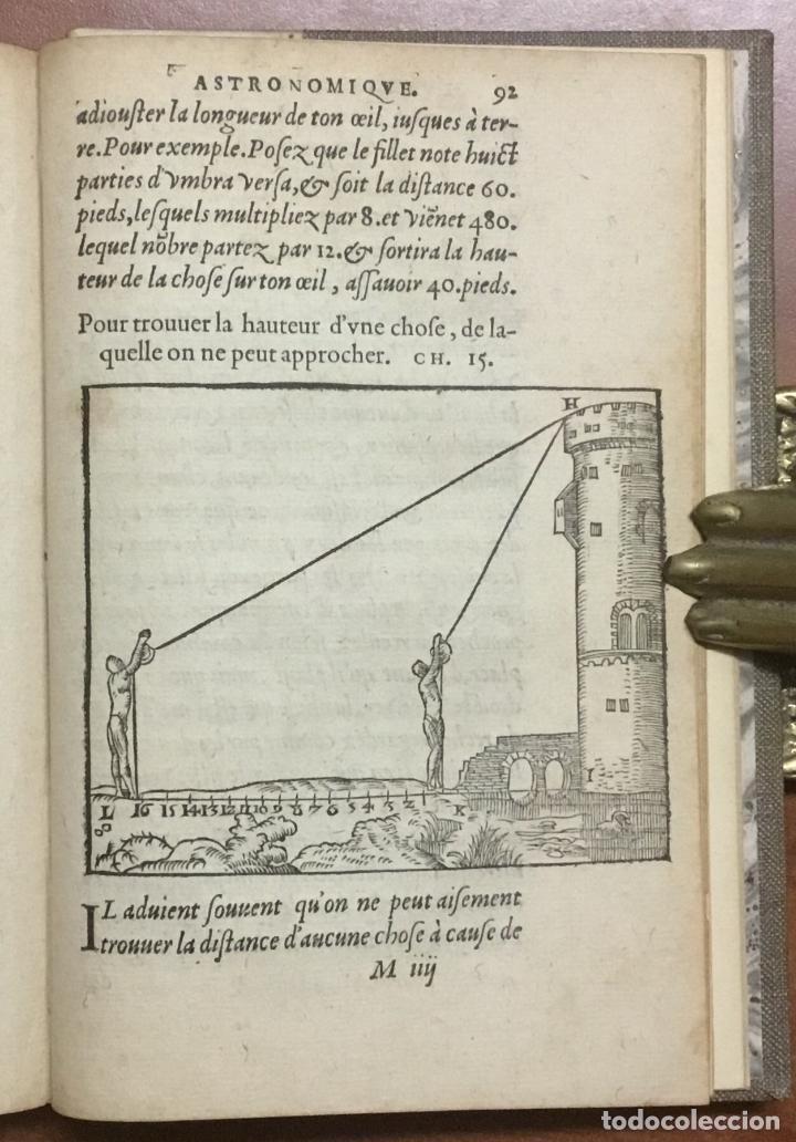 Libros antiguos: LES PRINCIPES D'ASTRONOMIE & COSMOGRAPHIE AVEC L'USAGE DU GLOBE. - GEMMA FRISIUS, Rainer. - Foto 10 - 109022603