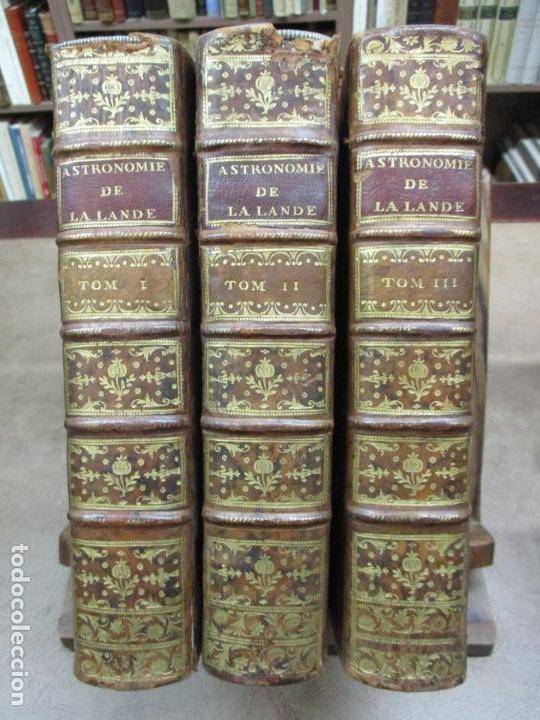 Libros antiguos: ASTRONOMIE. - LA LANDE, Jerôme de. - Foto 2 - 109021662