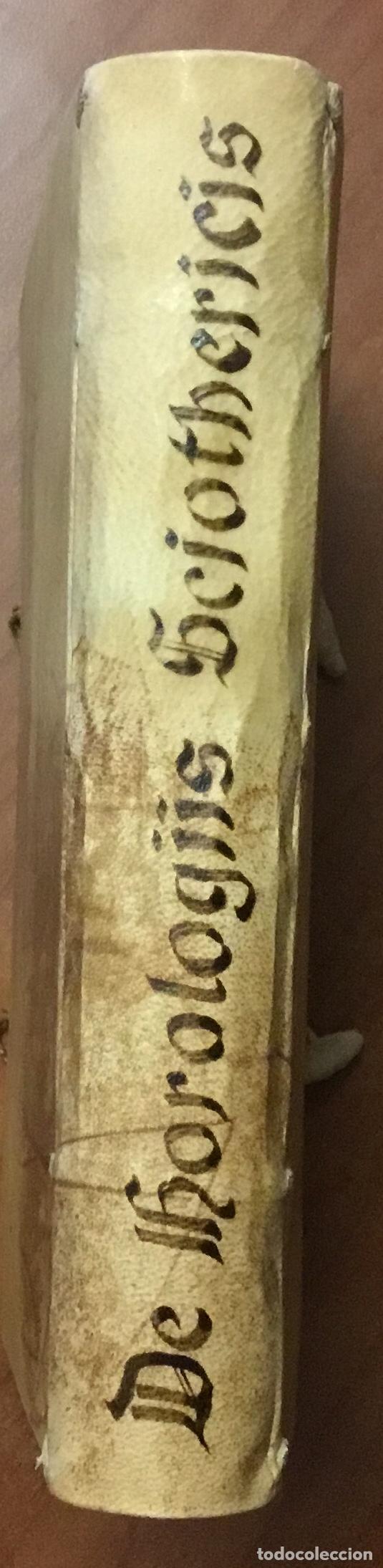 Libros antiguos: VOELLO, Joanne. DE HOROLOGIIS SCIOTHERICIS LIBRI TRES. RELOJES DE SOL ASTRONOMIA 1608 - Foto 17 - 110342419