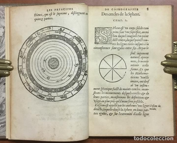 Libros antiguos: LES PRINCIPES D'ASTRONOMIE & COSMOGRAPHIE AVEC L'USAGE DU GLOBE. - GEMMA FRISIUS, Rainer. - Foto 2 - 109022603