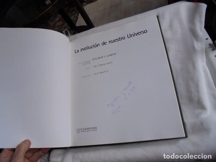 Libros antiguos: LA EVOLUCION DE NUESTRO UNIVERSO.MALCOLM S.LONGAIR.CAMBRIDGE UNIVERSITY 1998.-1ª EDICION - Foto 4 - 113603327