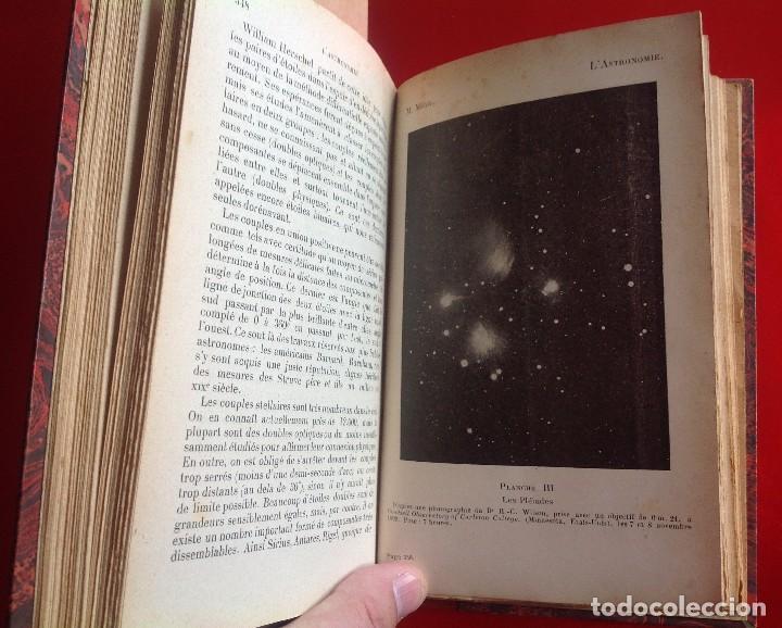 Libros antiguos: Enciclopedia de astronomía en francés . Circa 1927 . Con 395 pag - Foto 4 - 114071559