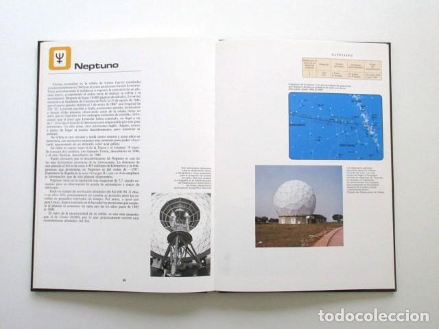Libros antiguos: ATLAS DEL ESPACIO + 8 LÁMINAS PARA INTERPRETARLO, ESTADO IMPECABLE, VER FOTOS, AÑO 1987 - Foto 4 - 115748711