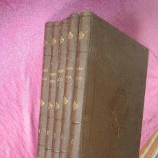 Libros antiguos: EL MUNDO FISICO. AMADEO GUILLEMIN. 5 TOMOS. MONTANER Y SIMON. AÑO 1882. Lote 116910195