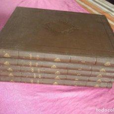 Libros antiguos: EL MUNDO FISICO. AMADEO GUILLEMIN. 5 TOMOS. MONTANER Y SIMON EDITORIES. 1882. Lote 116910195