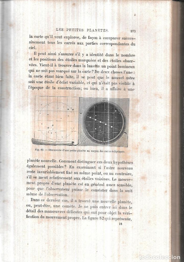 Libros antiguos: LE CIEL NOTIONS D´ASTRONOMIE. PAR AMEDEE GUILLEMIN. TROISIEME EDITION.LIBRAIRIE DE L. HACHETTE .1866 - Foto 3 - 116998467