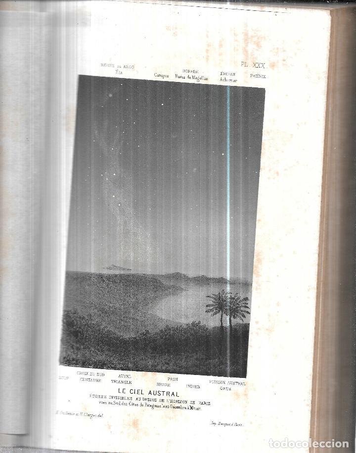 Libros antiguos: LE CIEL NOTIONS D´ASTRONOMIE. PAR AMEDEE GUILLEMIN. TROISIEME EDITION.LIBRAIRIE DE L. HACHETTE .1866 - Foto 4 - 116998467