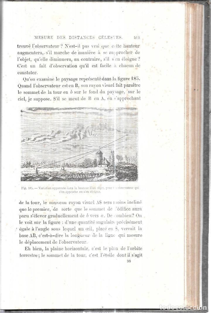 Libros antiguos: LE CIEL NOTIONS D´ASTRONOMIE. PAR AMEDEE GUILLEMIN. TROISIEME EDITION.LIBRAIRIE DE L. HACHETTE .1866 - Foto 5 - 116998467