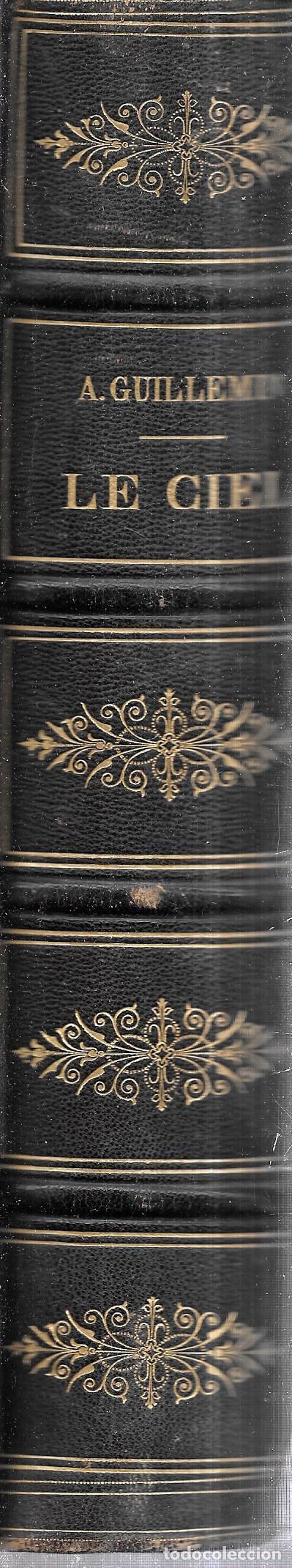 Libros antiguos: LE CIEL NOTIONS D´ASTRONOMIE. PAR AMEDEE GUILLEMIN. TROISIEME EDITION.LIBRAIRIE DE L. HACHETTE .1866 - Foto 6 - 116998467
