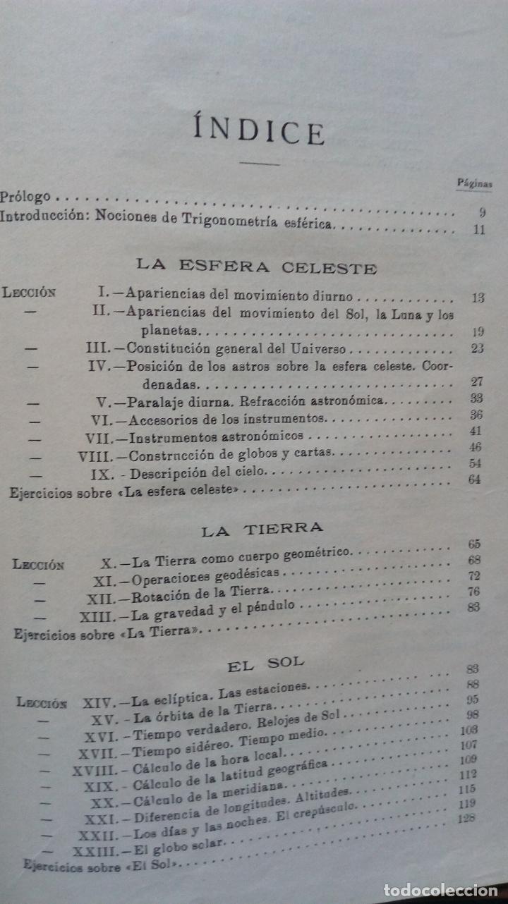 Libros antiguos: LECCIONES DE COSMOGRAFÍA Y GEOFÍSICA. GABRIEL GALÁN. 1934 (ASTRONOMÍA. ASTROFÍSICA. FÍSICA) - Foto 3 - 117211567