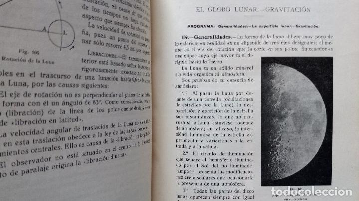 Libros antiguos: LECCIONES DE COSMOGRAFÍA Y GEOFÍSICA. GABRIEL GALÁN. 1934 (ASTRONOMÍA. ASTROFÍSICA. FÍSICA) - Foto 5 - 117211567