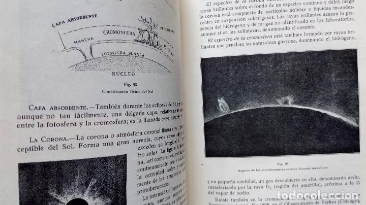 Libros antiguos: LECCIONES DE COSMOGRAFÍA Y GEOFÍSICA. GABRIEL GALÁN. 1934 (ASTRONOMÍA. ASTROFÍSICA. FÍSICA) - Foto 7 - 117211567