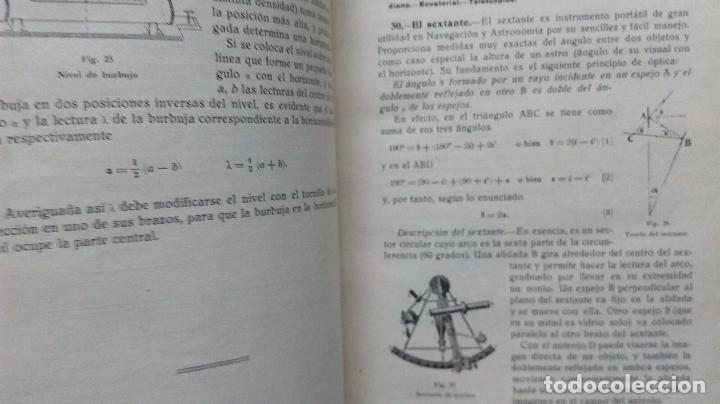 Libros antiguos: LECCIONES DE COSMOGRAFÍA Y GEOFÍSICA. GABRIEL GALÁN. 1934 (ASTRONOMÍA. ASTROFÍSICA. FÍSICA) - Foto 8 - 117211567