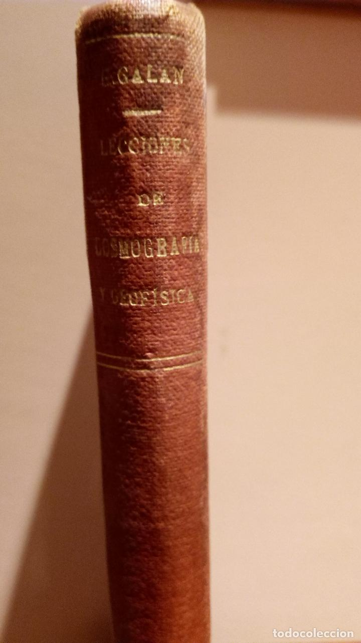 Libros antiguos: LECCIONES DE COSMOGRAFÍA Y GEOFÍSICA. GABRIEL GALÁN. 1934 (ASTRONOMÍA. ASTROFÍSICA. FÍSICA) - Foto 9 - 117211567