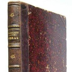 Libros antiguos: OBRAS DE FLAMMARION - CUATRO LIBROS ENCUADERNADOS EN UN SOLO VOLUMEN - JANE HERMANOS, EDITORES. Lote 117878847