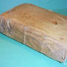 Libros antiguos: (M) ANTIGUO LIBRO S. XVII- ( FALTO DE PORTADA ) DE SPHAERA MUNDI DE LA SPHERE DU MONDE - DE L'USAGE . Lote 118340039