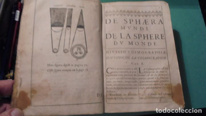 Libros antiguos: (M) ANTIGUO LIBRO S. XVII- ( FALTO DE PORTADA ) DE SPHAERA MUNDI DE LA SPHERE DU MONDE - DE LUSAGE - Foto 3 - 118340039