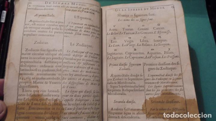 Libros antiguos: (M) ANTIGUO LIBRO S. XVII- ( FALTO DE PORTADA ) DE SPHAERA MUNDI DE LA SPHERE DU MONDE - DE LUSAGE - Foto 4 - 118340039