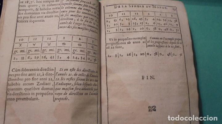 Libros antiguos: (M) ANTIGUO LIBRO S. XVII- ( FALTO DE PORTADA ) DE SPHAERA MUNDI DE LA SPHERE DU MONDE - DE LUSAGE - Foto 6 - 118340039