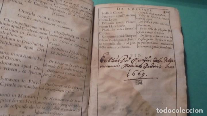 Libros antiguos: (M) ANTIGUO LIBRO S. XVII- ( FALTO DE PORTADA ) DE SPHAERA MUNDI DE LA SPHERE DU MONDE - DE LUSAGE - Foto 10 - 118340039