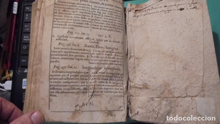 Libros antiguos: (M) ANTIGUO LIBRO S. XVII- ( FALTO DE PORTADA ) DE SPHAERA MUNDI DE LA SPHERE DU MONDE - DE LUSAGE - Foto 14 - 118340039