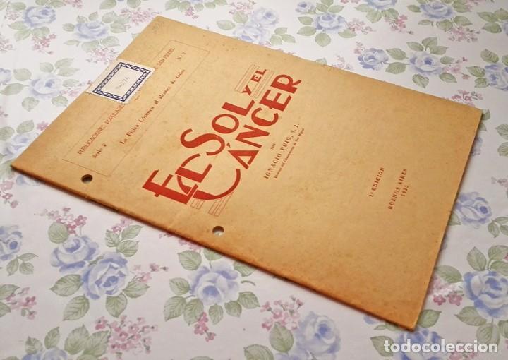 Libros antiguos: 1935 Cuaderno el Sol y el cáncer Ignacio Puig publicaciones populares - Foto 2 - 122863387