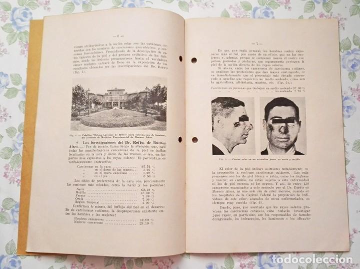 Libros antiguos: 1935 Cuaderno el Sol y el cáncer Ignacio Puig publicaciones populares - Foto 5 - 122863387