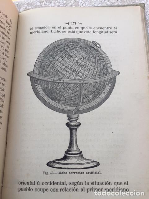Libros antiguos: EL MUNDO SOLAR ELEMENTOS DE GEOGRAFÍA ASTRONÓMICA - Foto 4 - 123186119