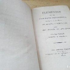 Libros antiguos: ELEMENTOS DE LA GEOGRAFIA ASTRONOMICA NATURAL Y POLITICA DE ESPAÑA Y PORTUGAL, ISIDORO ANTILLON 1815. Lote 124004651