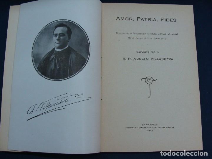 Libros antiguos: PERALTA DE LA SAL (HUESCA). ADULFO VILLANUEVA. ZARAGOZA 1922. MUY RARO. HISTORIA LOCAL MUY RARA.. - Foto 2 - 124550323