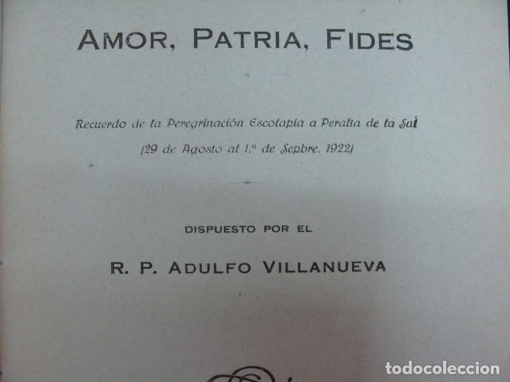 Libros antiguos: PERALTA DE LA SAL (HUESCA). ADULFO VILLANUEVA. ZARAGOZA 1922. MUY RARO. HISTORIA LOCAL MUY RARA.. - Foto 3 - 124550323