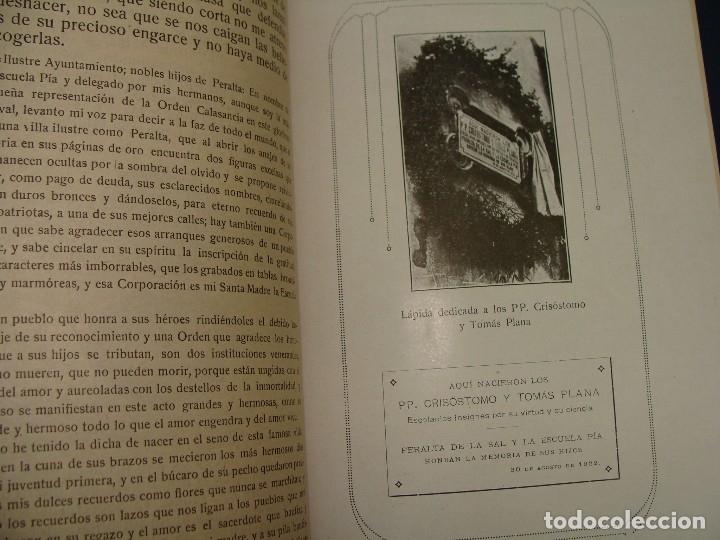 Libros antiguos: PERALTA DE LA SAL (HUESCA). ADULFO VILLANUEVA. ZARAGOZA 1922. MUY RARO. HISTORIA LOCAL MUY RARA.. - Foto 8 - 124550323