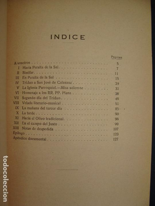 Libros antiguos: PERALTA DE LA SAL (HUESCA). ADULFO VILLANUEVA. ZARAGOZA 1922. MUY RARO. HISTORIA LOCAL MUY RARA.. - Foto 10 - 124550323