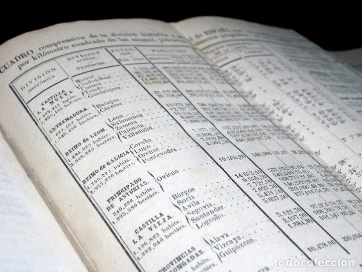 Libros antiguos: Año 1869 Astronomía Física y Geografía descriptiva Tabla desplegable Cuba Filipinas Merelo - Foto 9 - 125822183