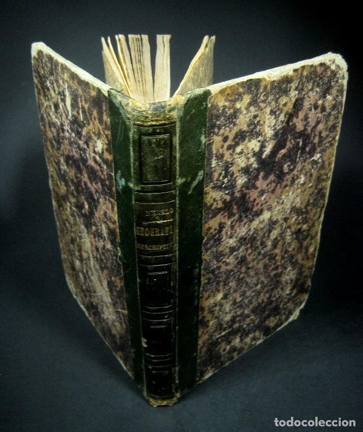 Libros antiguos: Año 1869 Astronomía Física y Geografía descriptiva Tabla desplegable Cuba Filipinas Merelo - Foto 15 - 125822183