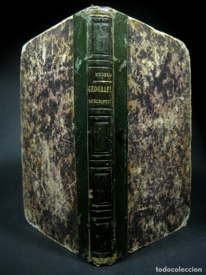 Libros antiguos: Año 1869 Astronomía Física y Geografía descriptiva Tabla desplegable Cuba Filipinas Merelo - Foto 16 - 125822183
