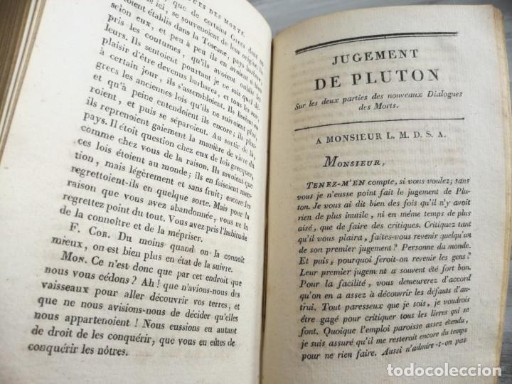 Libros antiguos: ENTRETIENS SUR LA PLURALITÉ DES MONDES - CONVERSACIONES SOBRE LA PLURALIDAD DE MUNDOS. DESPLEGABLE - Foto 8 - 131746622