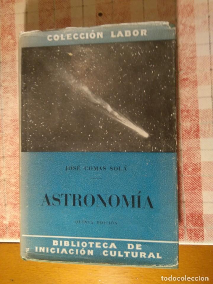 LIBRO ASTRONOMÍA (Libros Antiguos, Raros y Curiosos - Ciencias, Manuales y Oficios - Astronomía)