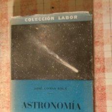 Libros antiguos: LIBRO ASTRONOMÍA. Lote 132547530
