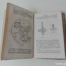 Libros antiguos: MANUAL DEL RELOJERO FAUSTINO BASTÚS AÑO 1864 ILUSTRADO RELOJERIA PRIMERA EDICIÓN MUY RARO. Lote 133011962