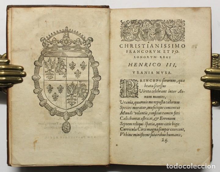 Libros antiguos: M. MANILI ASTRONOMICON LIBRI QUINQUE... Eiusdem Ios. Scaligeri commentarius in eosdem libros, et cas - Foto 2 - 109022442