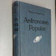 Libros antiguos: ASTRONOMÍA POPULAR / S. NEWCOMB Y R. ENGELMANN / GUSTAVO GILI EDITOR 1936. Lote 134415026