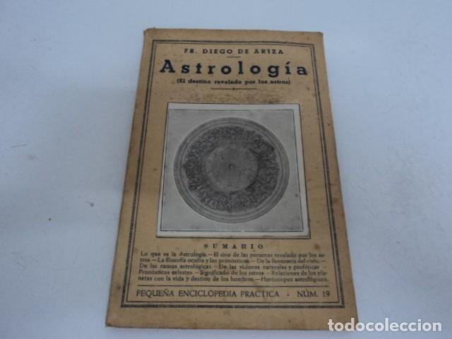 MAGNIFICO LIBRO ANTIGUO DE ASTROLOGIA POR FR, DIEGO DE ARIZA SEGUNDA EDICION (Libros Antiguos, Raros y Curiosos - Ciencias, Manuales y Oficios - Astronomía)