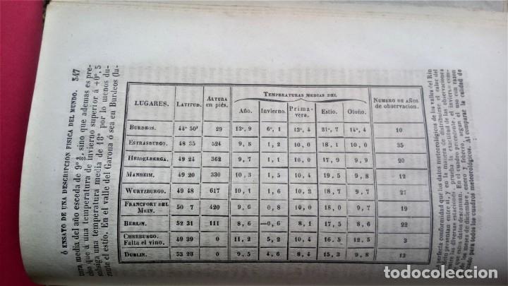 Libros antiguos: LIBRO,COSMOS ENSAYO DE UNA DESCRIPCION FISICA DEL MUNDO,SIGLO XIX AÑO 1851,2 TOMOS,ESPACIO-UNIVERSO - Foto 11 - 138935742
