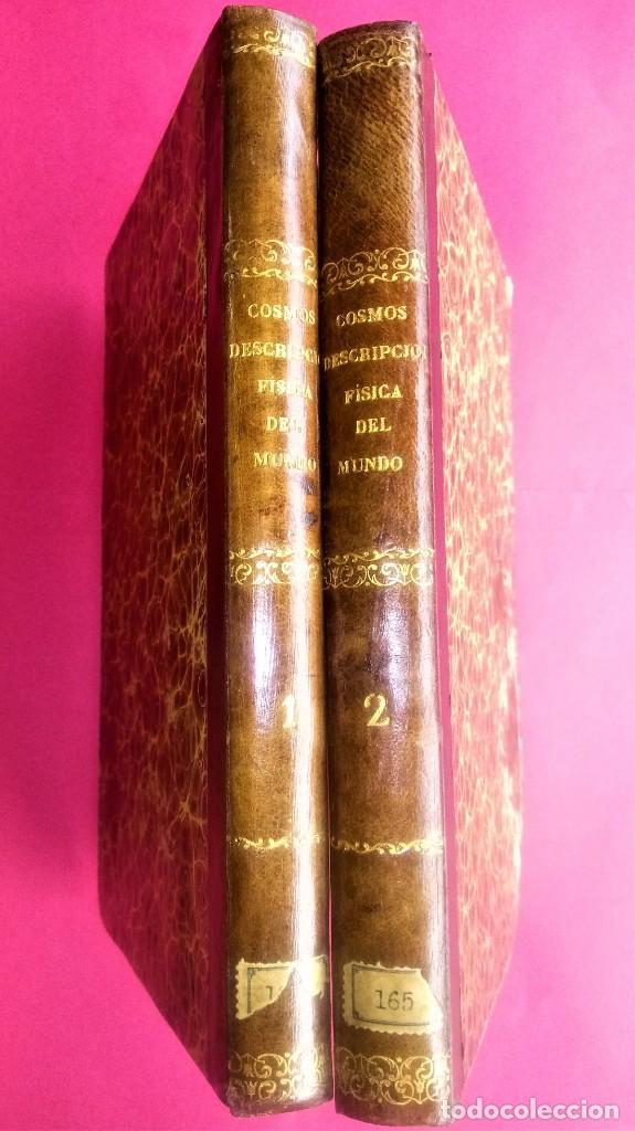 Libros antiguos: LIBRO,COSMOS ENSAYO DE UNA DESCRIPCION FISICA DEL MUNDO,SIGLO XIX AÑO 1851,2 TOMOS,ESPACIO-UNIVERSO - Foto 16 - 138935742