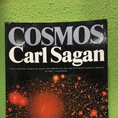 Libros antiguos: COSMOS CARL SAGAN (ENVÍO GRATUITO PENINSULAR). Lote 139328442
