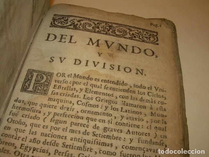 Libros antiguos: PRIMERA EDICION DEL AÑO 1713.EL NON PLUS ULTRA DEL LUNARIO Y PRONOSTICO PERPETUO.... TAPAS PERGAMINO - Foto 6 - 142463270