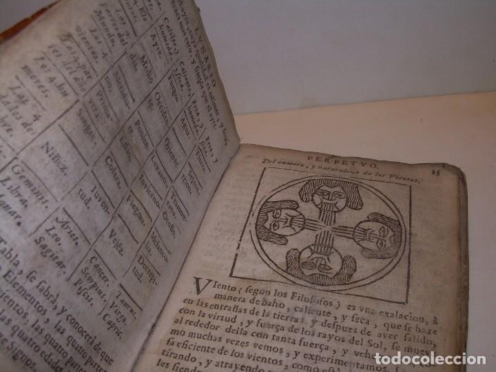 Libros antiguos: PRIMERA EDICION DEL AÑO 1713.EL NON PLUS ULTRA DEL LUNARIO Y PRONOSTICO PERPETUO.... TAPAS PERGAMINO - Foto 8 - 142463270