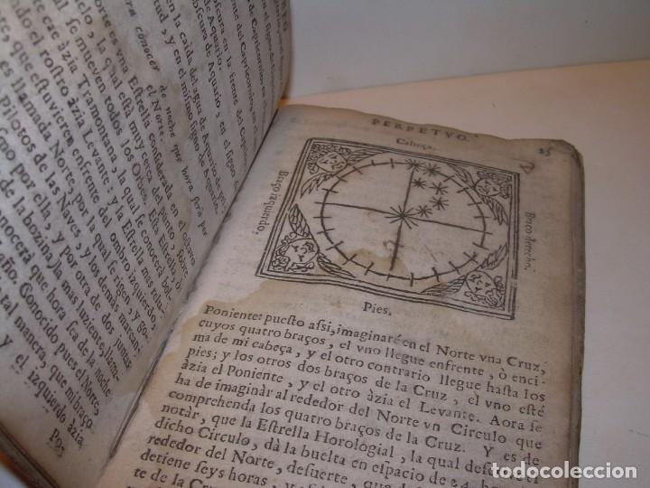 Libros antiguos: PRIMERA EDICION DEL AÑO 1713.EL NON PLUS ULTRA DEL LUNARIO Y PRONOSTICO PERPETUO.... TAPAS PERGAMINO - Foto 10 - 142463270